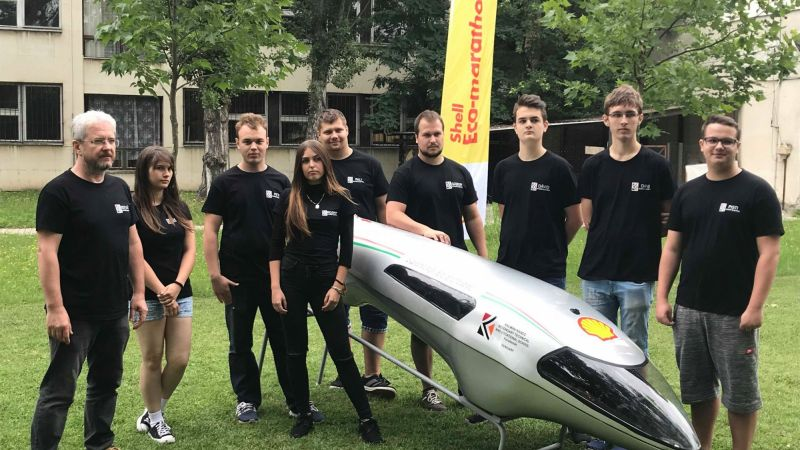 Idén is indul a Kandó Electric csapata a  Shell Eco-marathonon